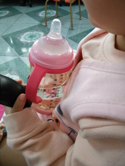 贝能(Baoneo) 婴儿奶瓶宽口径带手柄宝宝防摔防吐奶防胀气硅胶奶瓶 蓝180ML-奶瓶(德国进货PPSU) 晒单图