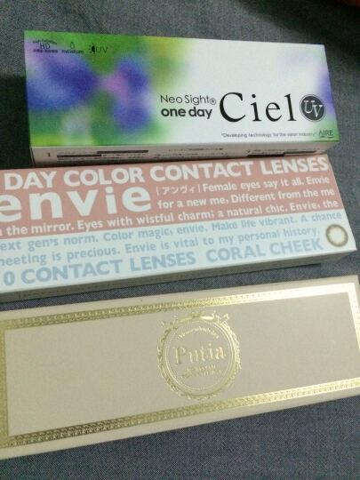 日本直邮Ciel UV日抛30片装 美瞳彩色隐形眼镜直径14.2mm 4#CielBrown棕色 525 晒单图