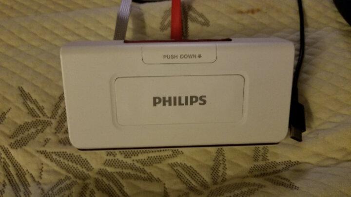 飞利浦(PHILIPS)DLP8082 商务精英 无线蓝牙音箱/插卡音箱/音响 电话会议扬声器/免提通话/移动电源充电宝 红色 晒单图