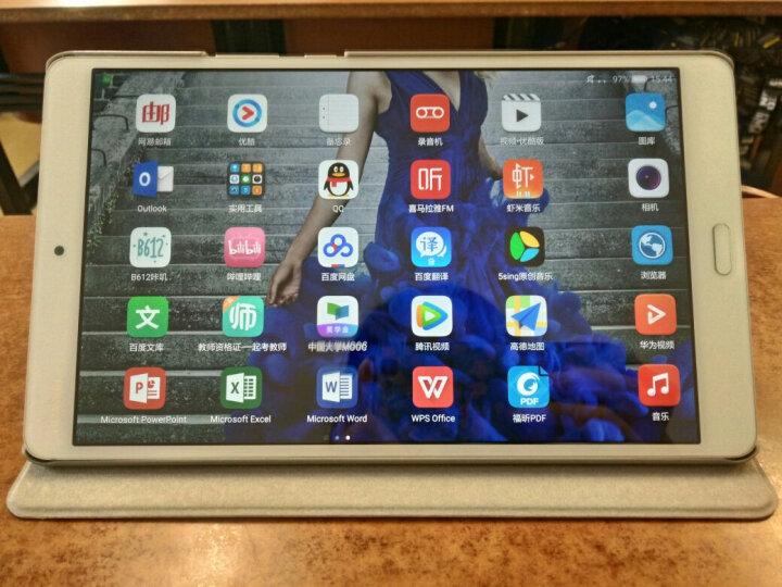 华为(HUAWEI)M3 8.4英寸平板电脑(2K高清屏 麒麟950 哈曼卡顿音效 4G/64G WiFi)日晖金 晒单图