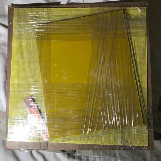 圣吉利 3240环氧板 环氧树脂板 玻纤板 玻璃纤维板绝缘板 定制尺寸 500*500*6.0mm 晒单图