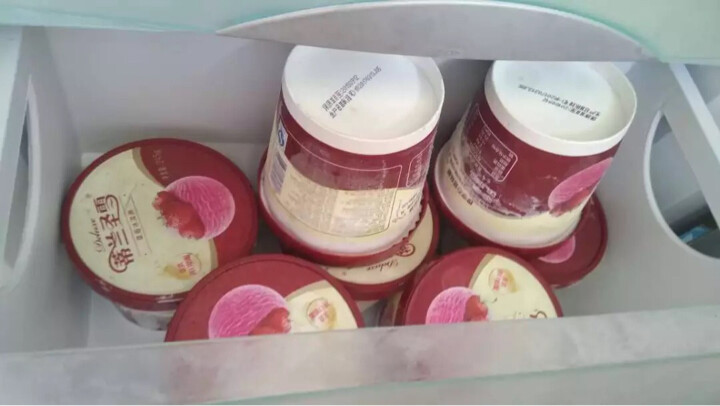 蒙牛 蒂兰圣雪冰淇淋 75g 玫瑰芝士口味 晒单图