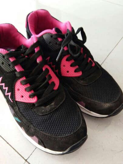 EEIMU女鞋2017新款休闲鞋女厚底板鞋运动鞋韩版跑步鞋旅游鞋 Y-8蓝色 38 晒单图