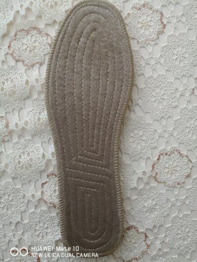 南极人 加厚羊毛鞋垫男冬季防臭加绒羊毛毡棉鞋垫 【6双装】透气毛毡(非羊毛) 43 晒单图