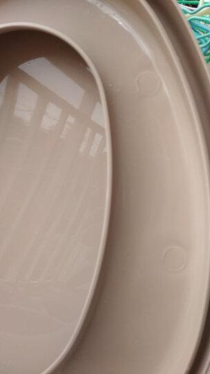 顺嘉利防滑移动马桶坐便器便携式孕妇老人塑料马桶坐便椅 缓降防滑三代驼色房间+厕所两用 晒单图