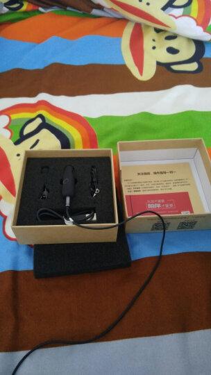 联想击音 听键A1【6种无线组合】5.0蓝牙音频接收器 有线耳机/车载/音箱音响转变无线蓝牙转换器适配器 蓝 晒单图