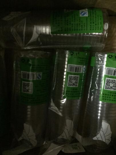 喇叭花200ml一次性杯子航空杯加厚硬塑杯透明水杯饮料塑料杯子批量可定制500只 晒单图