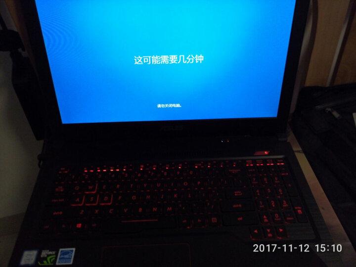 华硕(ASUS) 飞行堡垒四代FX63VD 15.6英寸游戏笔记本电脑(i5-7300HQ 8G 128GSSD+1T GTX1050 4G独显 IPS)黑色 晒单图