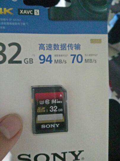 索尼(SONY) 高速sd卡SXS卡 A9 a6000 A7RM2 A7 X280内存卡 32G 94MB/s SF-32UX2 晒单图