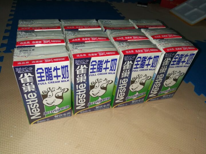 雀巢(Neslte) 【巧厨烘焙】雀巢全脂牛奶 咖啡打奶泡 蛋糕饼干甜品材料餐饮用1L 晒单图