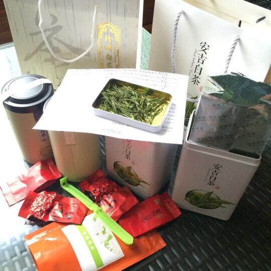 老缪家 茶叶 安吉白茶 安吉珍稀白茶 绿茶 共150g 礼盒装 晒单图