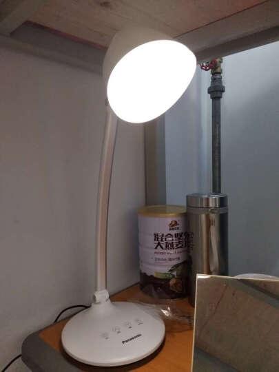 松下(Panasonic)台灯LED触摸六段/连续调光阅读工作学习简约台灯 HHLT0620 晒单图