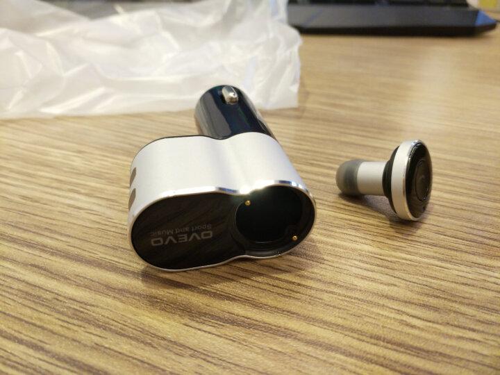 OVEVO Q10无线蓝牙耳机 迷你隐形车载入耳式4.1一拖二车充 晒单图