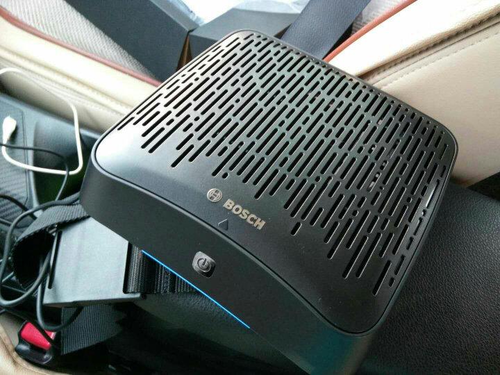 博世(BOSCH)车用车载空气净化器AM101(灰色)炫彩智能急速净化PM2.5CADR20除甲醛 更换滤网铃音提醒 晒单图