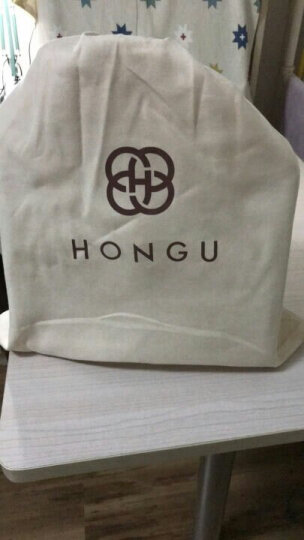 HONGU红谷女包2017新款欧美时尚手提包个性单肩包斜挎包女包牛皮包包 漆黑 晒单图