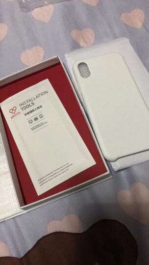 飚爱 苹果X/XR/Xs手机壳液态硅胶iPhone xs max保护套全包防摔软边潮男女款 【苹果 XR】酷睿黑 晒单图