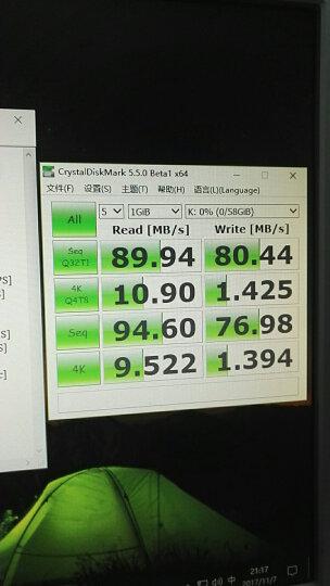 金士顿(Kingston)32GB 90MB/s TF(Micro SD)UHS-I Class10 土豪金高速存储卡 晒单图