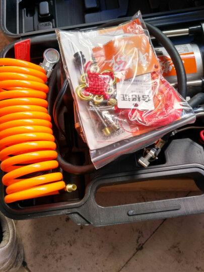 舜展(SHUNZHAN) 双缸车载充气泵 便携式打气泵汽车用12V点烟器电瓶取电 带灯80秒快充 含工具箱无工具 606-2 晒单图