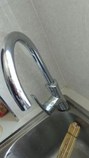 航标(Bolina) 3401-05 单把单孔厨房龙头 水槽龙头 全铜冷热水可旋转 晒单图