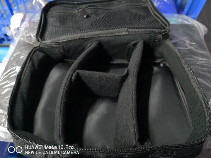 圣贝尔 旅行数码收纳包配件电源充电器整理包 耳机数据线收纳盒 硬盘包U盘袋 大号黑色 厂家发货 晒单图