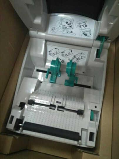斑马(ZEBRA) GK888t条码打印机二维码热敏不干胶标签 快递单电子面单打印机 标配(白色) 晒单图