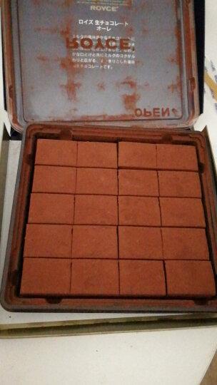 罗伊斯 【包邮】日本进口北海道ROYCE生巧克力原味牛奶生巧礼盒圣诞节七夕情人节送女友礼物 【现货】2盒抹茶装 晒单图