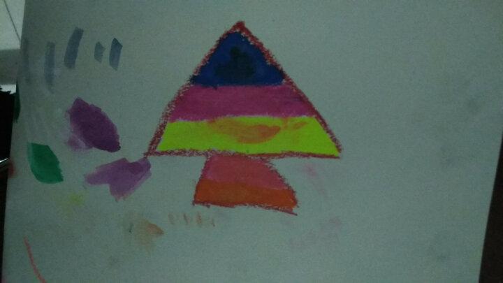 晨光(M&G)送水彩笔水溶性炫彩棒12/24/36/48色旋转彩绘棒儿童蜡笔彩笔可水洗油画棒 36色送笔刷B款 晒单图
