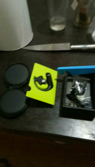 依魅 007 可换电池商务无线蓝牙耳机4.1运动音乐车载迷你蓝牙通用苹果小米华为三星手 亮黑-HiFi音效 晒单图