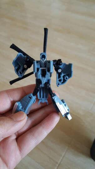 新奇达正版变形金刚5擎天柱大黄蜂声控遥控充电汽车人男孩玩具礼物变形机器人模型 漂移三控变形(奔驰)+三电 晒单图