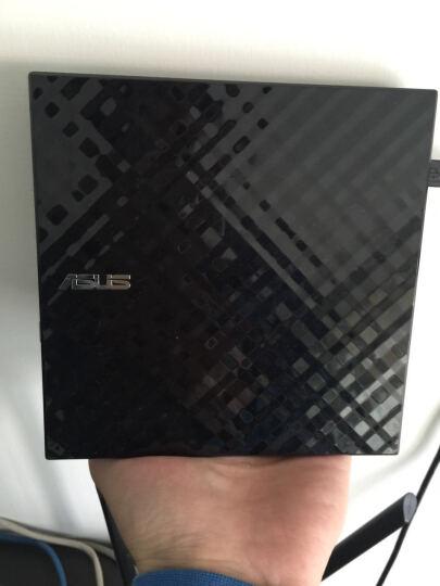 华硕(ASUS) 8倍速 USB2.0 外置DVD刻录机 移动光驱 黑色(兼容苹果系统/SDRW-08D2S-U) 晒单图