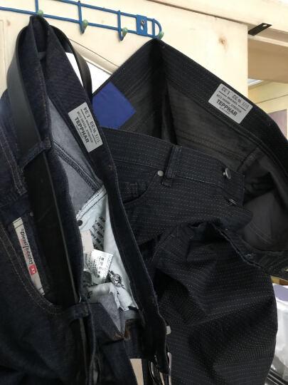 DIESEL 迪赛 男款深蓝色棉聚酯纤维氨纶牛仔裤 00CKRJ 0842G 01 32码 晒单图