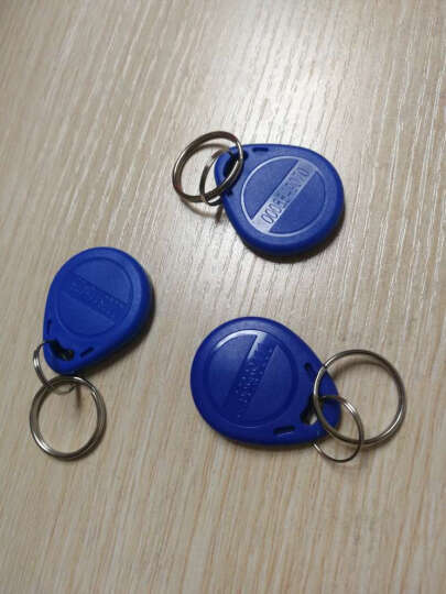 感应ID/IC卡 考勤机考勤卡 门禁卡 ID卡(钥匙扣) 晒单图