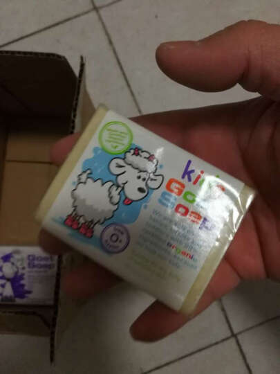 山羊奶皂 Goat Soap 手工香皂 保湿滋润 椰子味 澳洲进口 100g 孕妇婴儿适用 晒单图