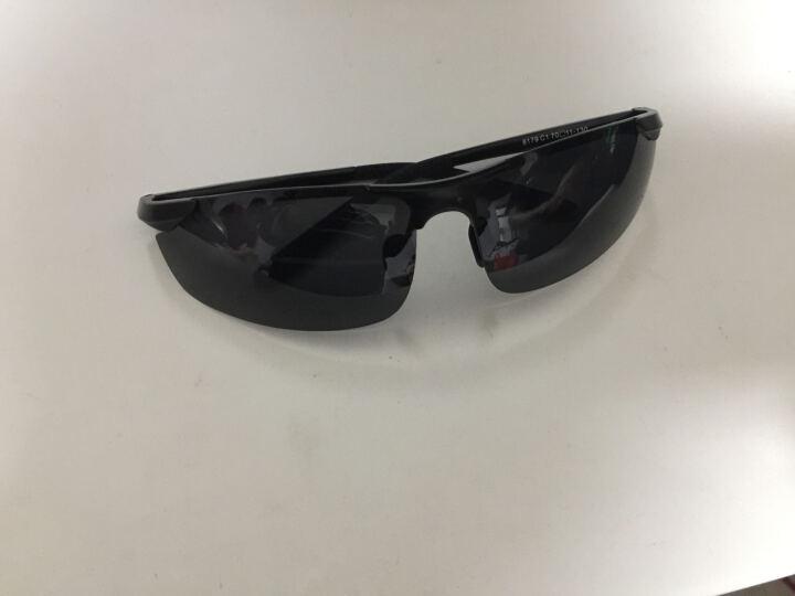 威斯贝斯 太阳镜男款变色墨镜司机偏光驾驶镜太阳眼镜运动款航空铝镁夜视镜日夜两用 黑框变茶片/日夜两用 晒单图