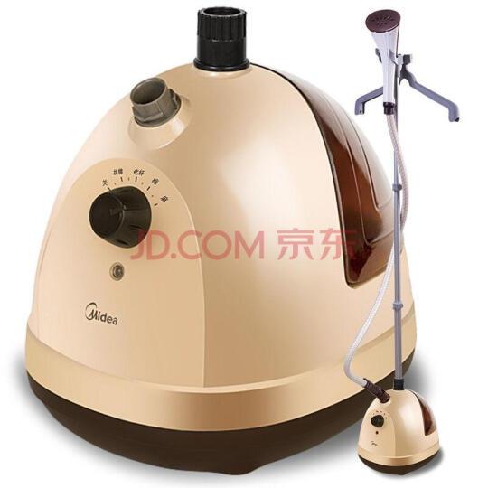 美的(Midea)1.5L 单杆 蒸汽挂烫机 家用手持/挂式电熨斗YGJ15D1(黄色) 晒单图
