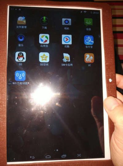 Uniscom 通话平板电脑10.1英寸KX20八核安卓 【博雅黑】32G 送原装皮套+12重豪礼+三年换新 移动联通3G版 晒单图