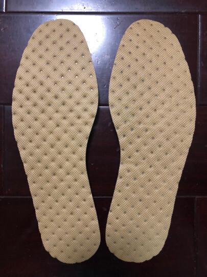 优唯美 10双装珍誉系列透气吸汗舒适薄荷清爽鞋垫41码 ZY-6066 晒单图