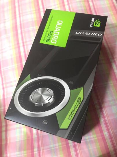 丽台(LEADTEK)Quadro P5000 16GB/GDDR5X/256-bit/288GBps/CUDA核心2560 Pascal GPU架构/VRREADY专业显卡 晒单图