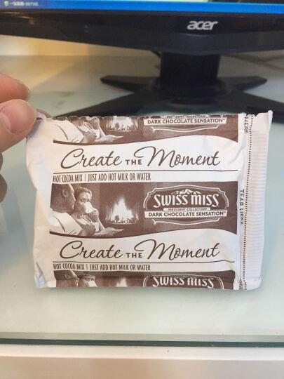 瑞士小姐Swiss Miss牛奶巧克力冲饮粉可可粉冲饮热巧克力粉 浓情283g*2 晒单图