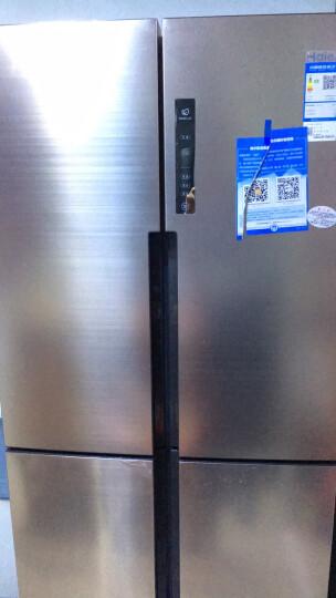 海尔(Haier)BCD-458WDVMU1 458升 风冷无霜 变频节能 智能十字对开门冰箱 干湿分储(ABT杀菌 纤薄机身) 晒单图
