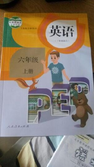 2017版小学人教版课本 6六年级上册语文数学英语全套3本教科书  6上语数英教材 书 晒单图