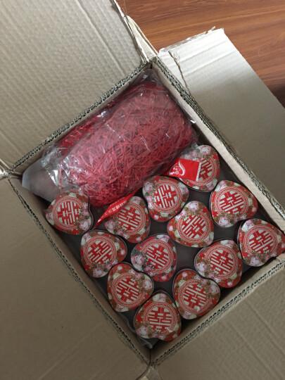 添祥缘 喜糖盒子马口铁糖盒欧式喜糖盒批发创意结婚用品 粉色玫瑰-心形小号(50个装) 晒单图