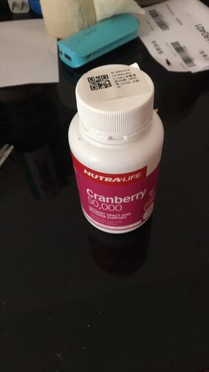Nutra-Life纽乐蔓越莓胶囊美容养颜抗衰老预防妇科炎症50粒 澳洲进口 100粒 1瓶 100天量 晒单图