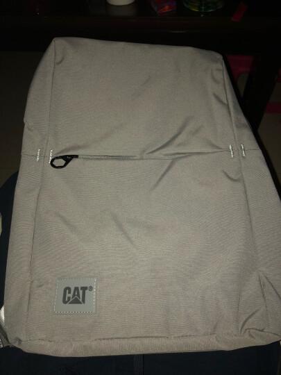 CAT/卡特双肩包男士极简都市设计背包休闲商务笔记本15.6英寸电脑包旅行运动学生书包 深蓝 晒单图
