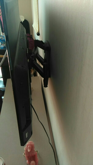 威视朗19-65英寸多功能旋转伸缩壁挂架液晶电视支架小米4A乐视海信创维飞利浦康佳三星夏普长虹摇摆架 511MT大号/(43-65寸) 晒单图