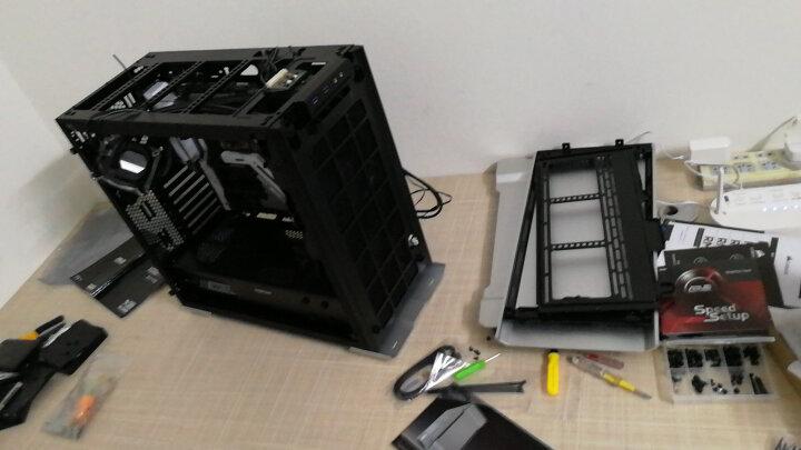 追风者(PHANTEKS) 515ETG流光银 钢化玻璃RGB电竞铝壳水冷机箱(3毫米铝材/配3把风扇/支持2x280水冷) 晒单图