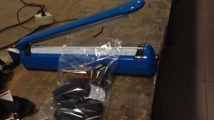 封口机小型家用手压迷你封塑料铝箔袋食品热封机茶叶袋包装机密封机 蓝色400型 晒单图