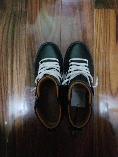 BALLY巴利男鞋织物配皮高帮休闲鞋运动鞋HEDERN 蓝色 7.5/41.5 晒单图