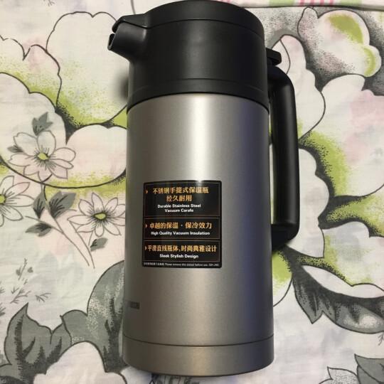象印(ZO JIRUSHI) 保温壶SH-JAE15进口不锈钢真空保温瓶暖水壶1.5L RA高贵红 晒单图