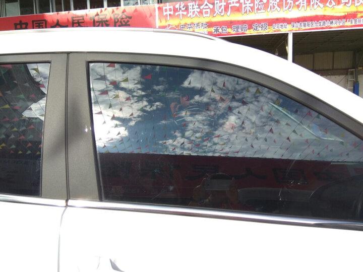 汉高(Henkel) 德国车膜 汽车玻璃贴膜 全车太阳 防爆隔热膜 陶瓷膜 全国包施工 侧后档AK35防晒 晒单图